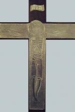 Cristo Lujan en estaño