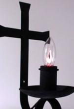Lampara del santísimo cruz alta