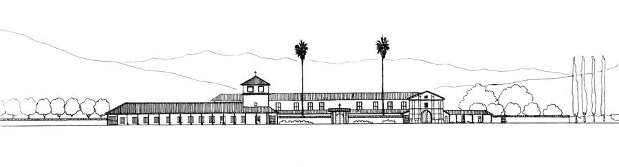 dibujo del arquitecto-raul-irarrazaval